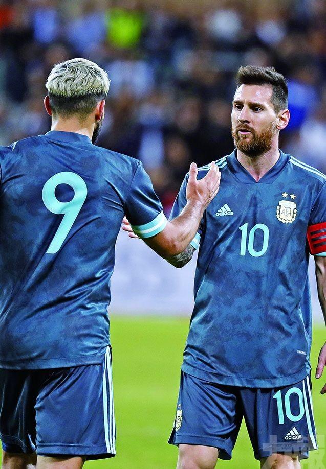 阿根廷友賽各二逼和烏拉圭