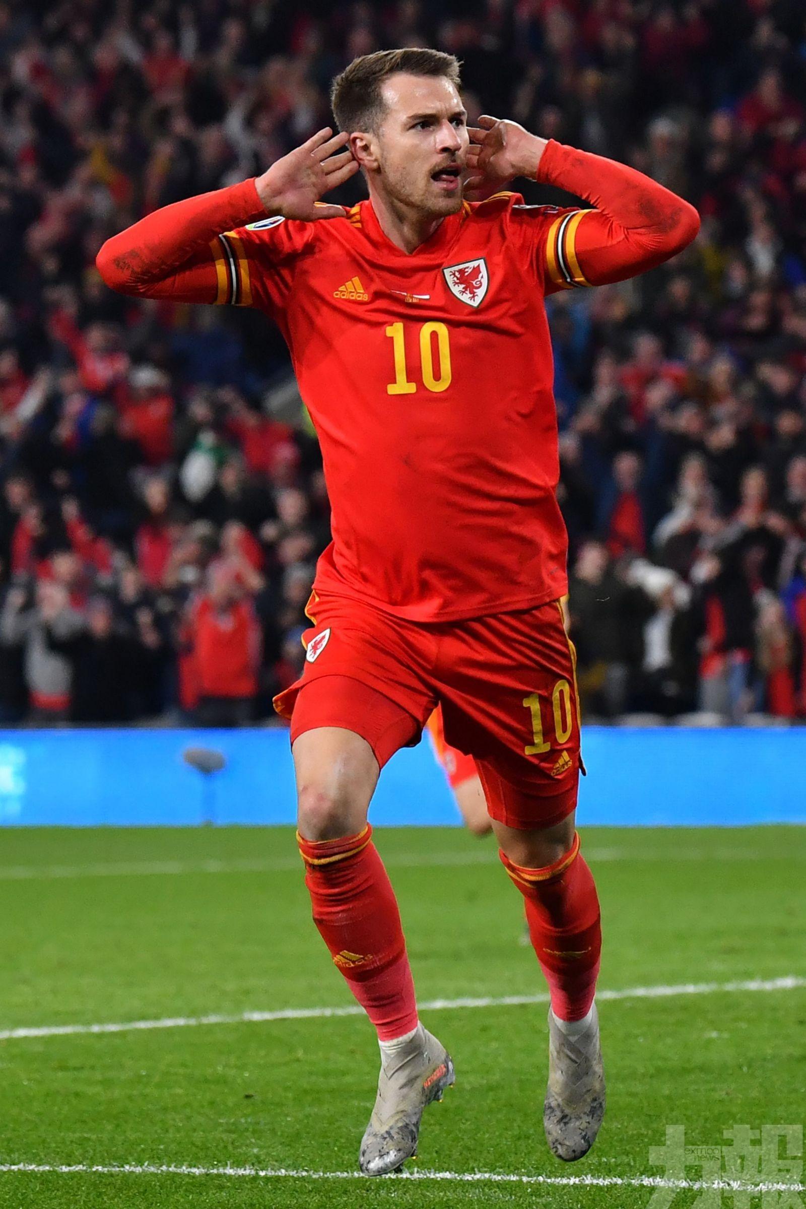 威爾斯「拔牙」闖歐國盃決賽周