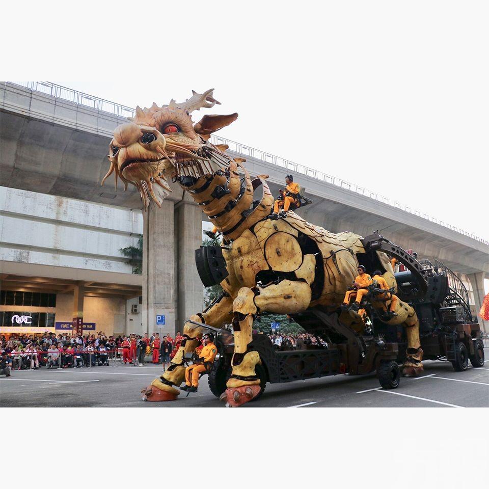 巨獸「龍馬」周末暴走賀雙慶