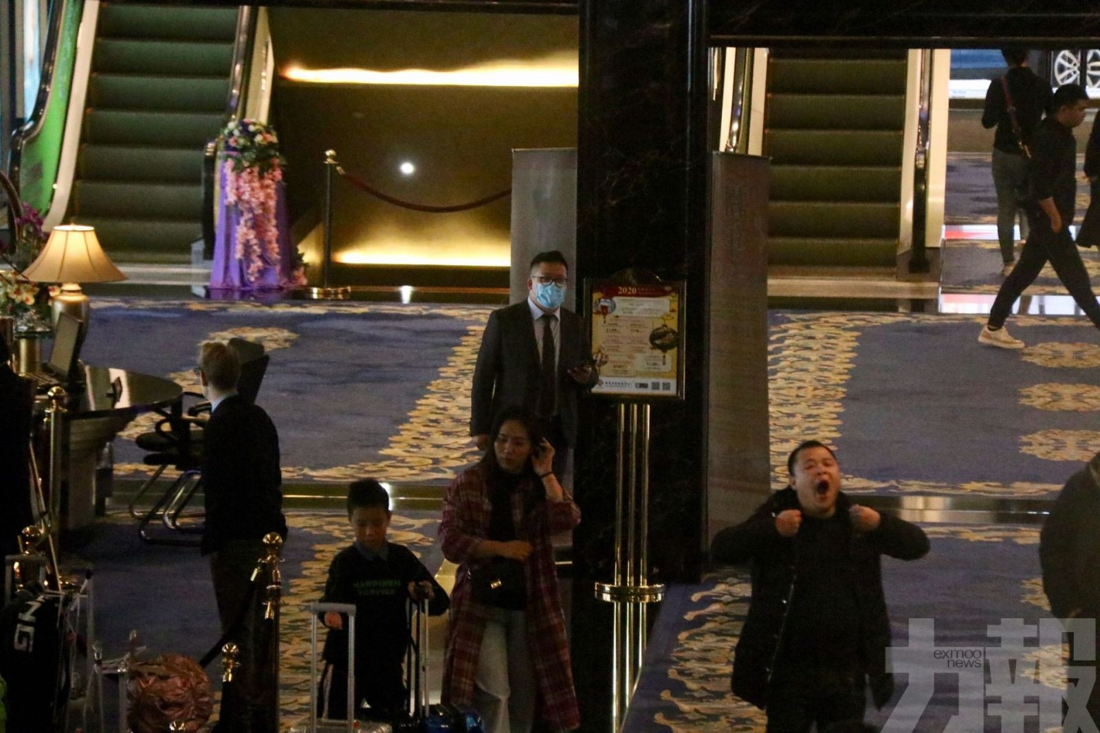 記者發現賭場莊荷「無戴口罩」