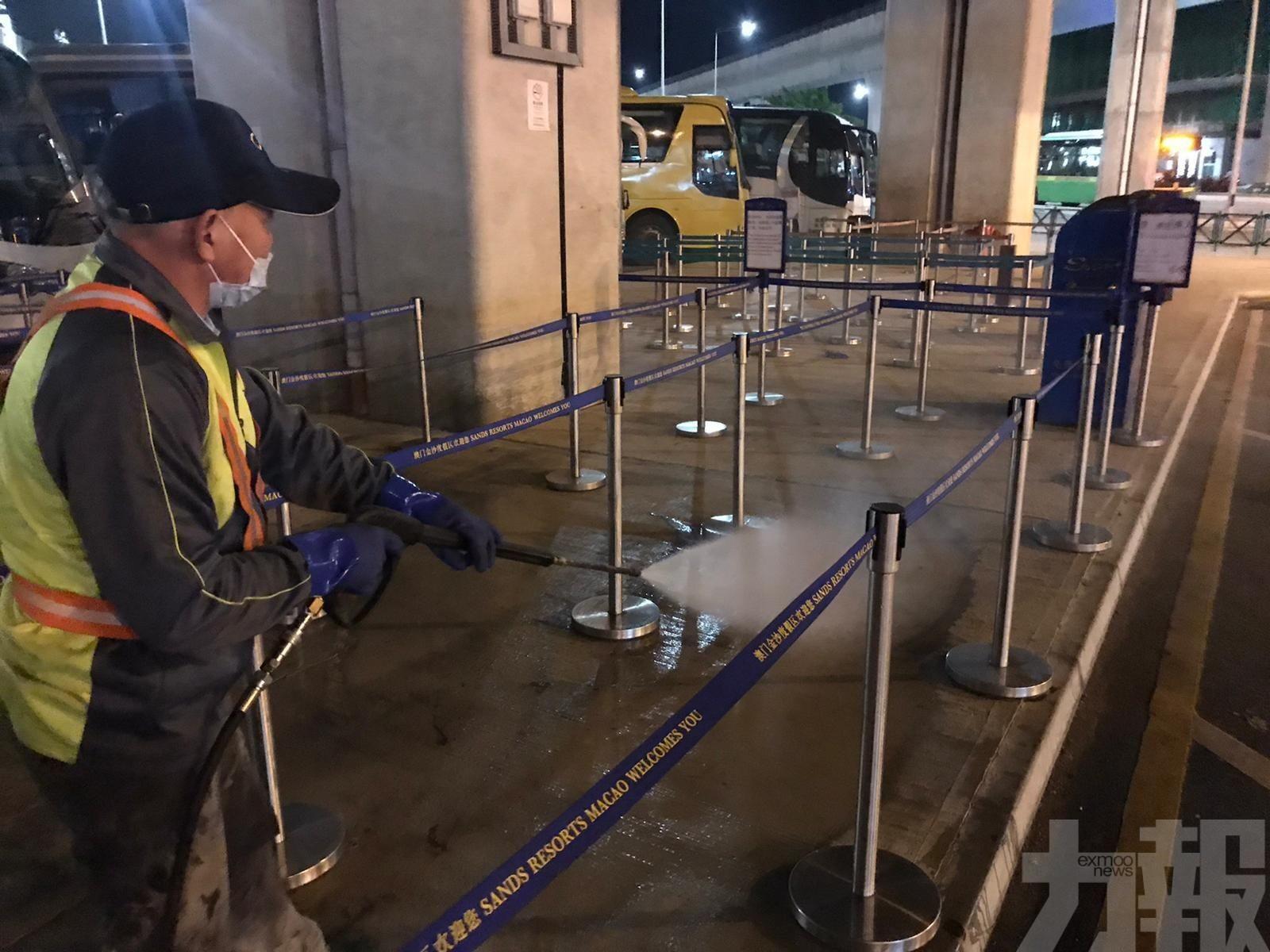 【防疫措施】市政署加強公共設施清潔