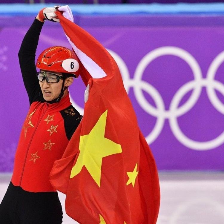武大靖為中國奪冬奧首金