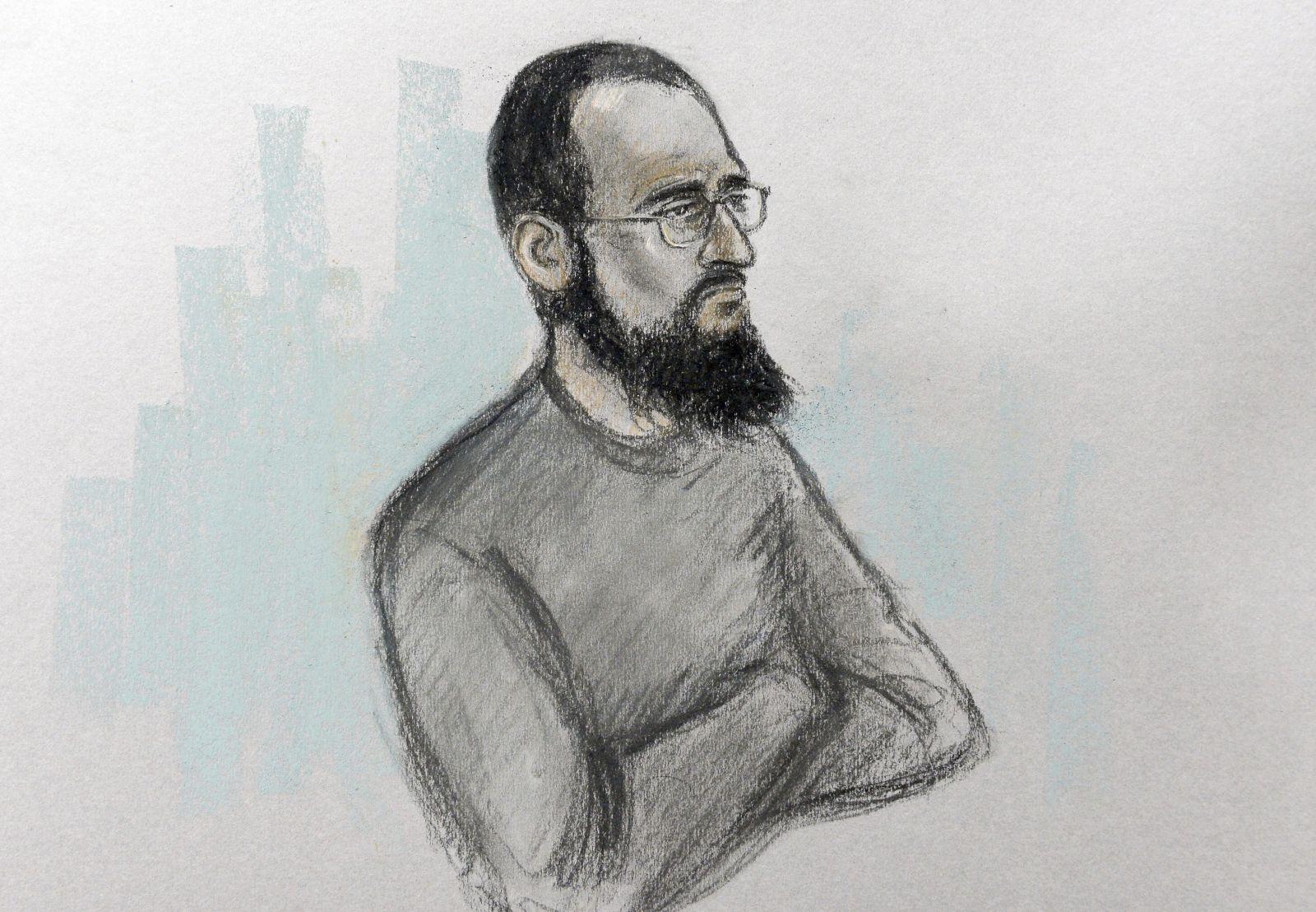 英男被控協助發動恐擊罪