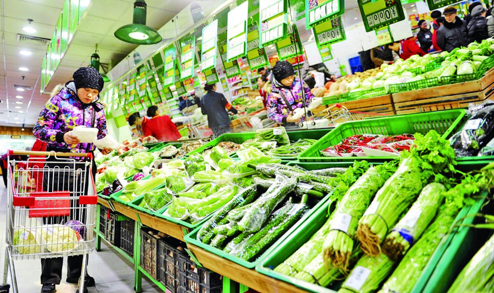 食品價格14年首跌