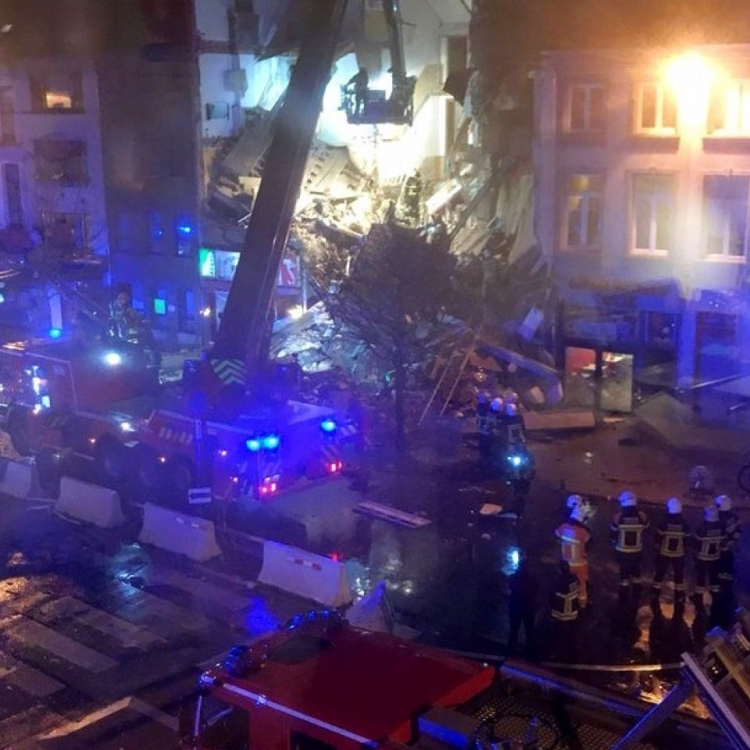 比利時樓宇疑氣體爆炸約20傷
