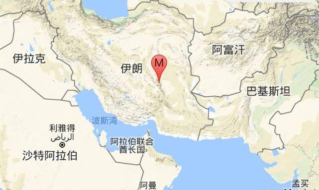 伊朗東部發生六級淺層地震