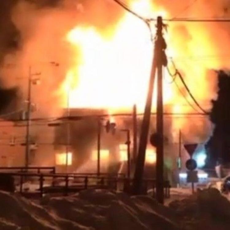 日本北海道火警11死