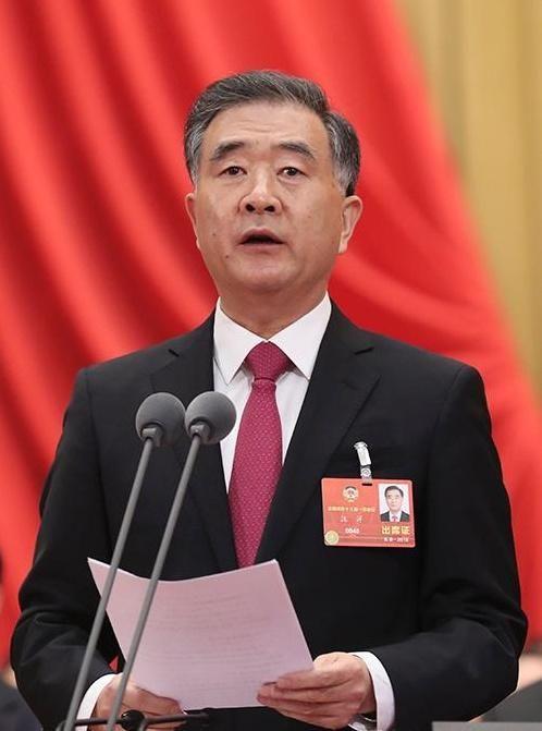 汪洋全票當選全國政協主席