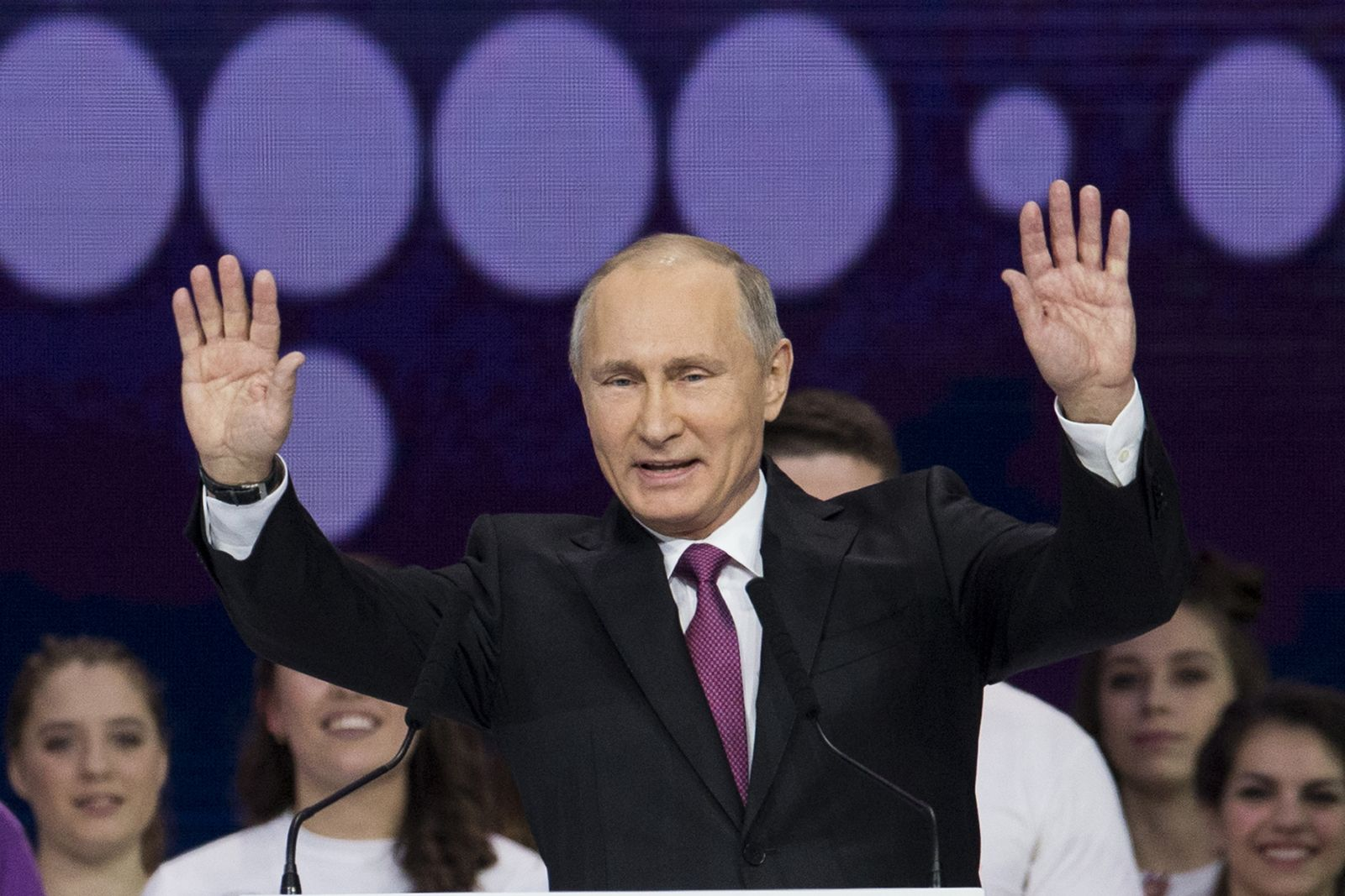 普京宣布參選2018俄羅斯大選