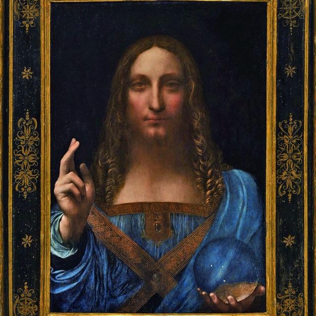 達文西《救世主》 成史上最高價拍賣品