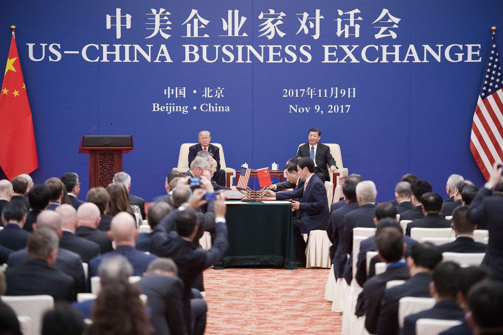 特朗普:貿易矛盾不怪中國
