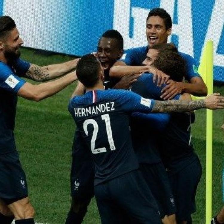 法國4:2「克」敵捧世界盃(有片)