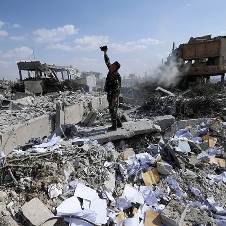 美英法空襲敘利亞師出無名