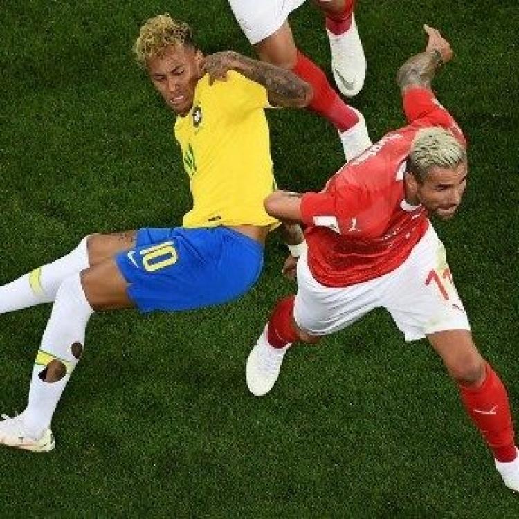 巴西領先下遭瑞士迫和1:1(有片)