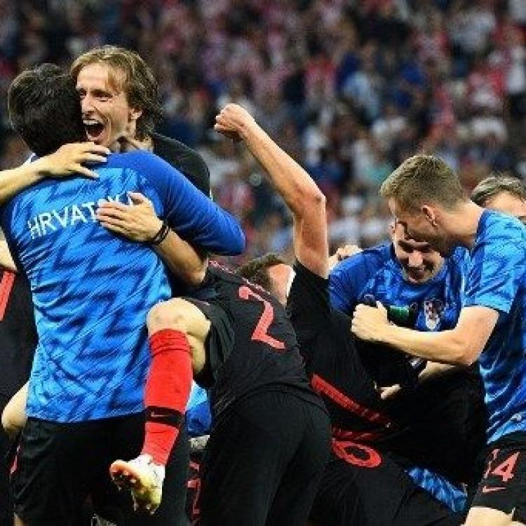 克羅地亞晉級八強鬥俄羅斯(有片)