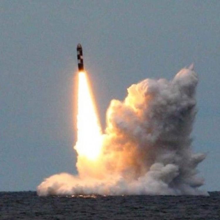 俄核潛艇成功試射四枚洲際導彈