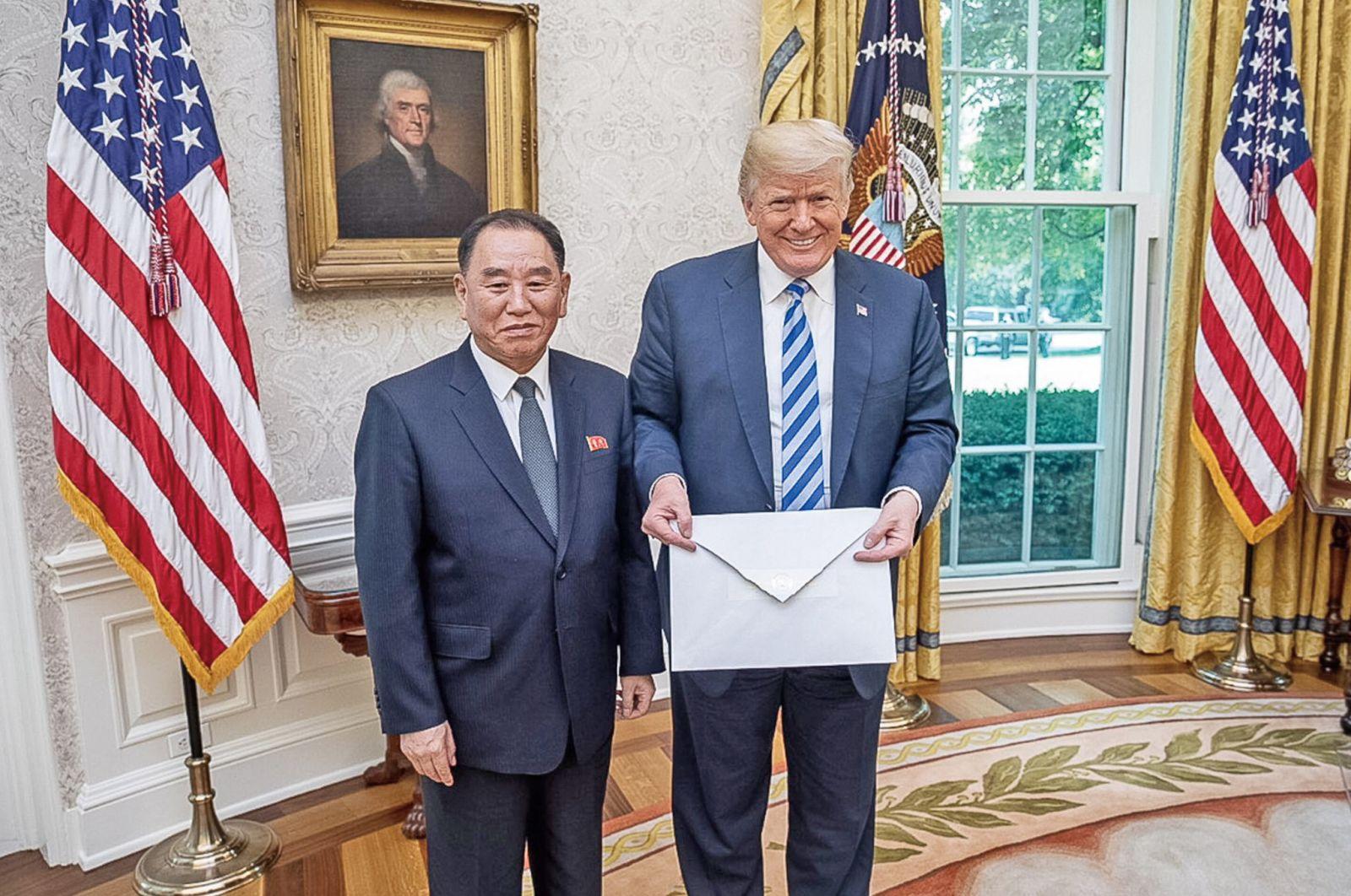 聯袂宣布韓戰結束