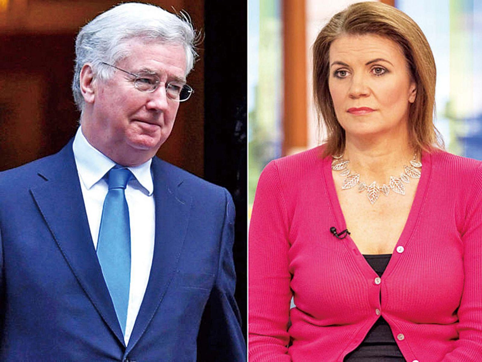 英國防大臣引咎辭職