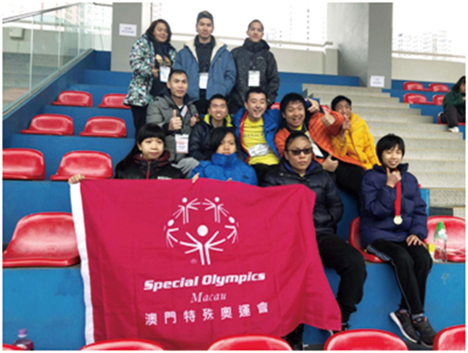 特奧會選手香港賽摘七金二銀一銅