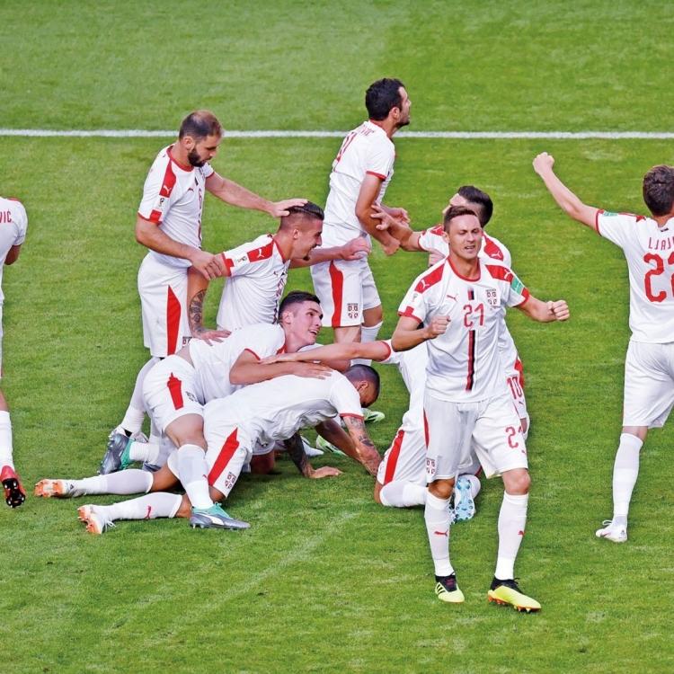 塞爾維亞強陣撲擊瑞士