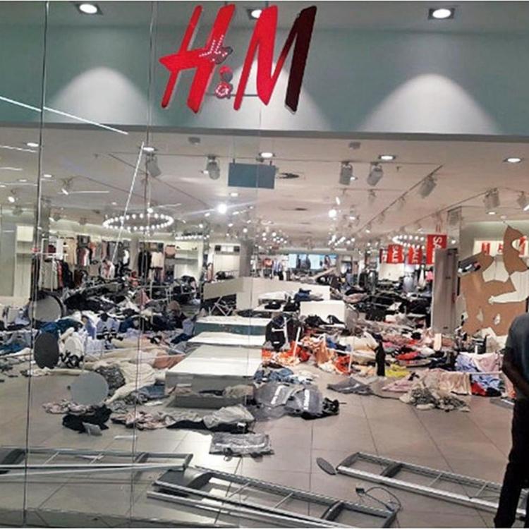 H&M關閉南非17分店