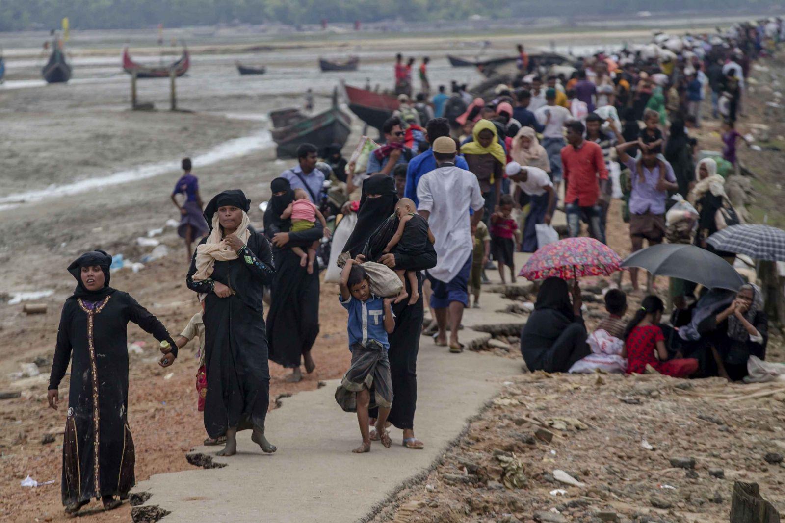 6,700羅興亞穆斯林喪生