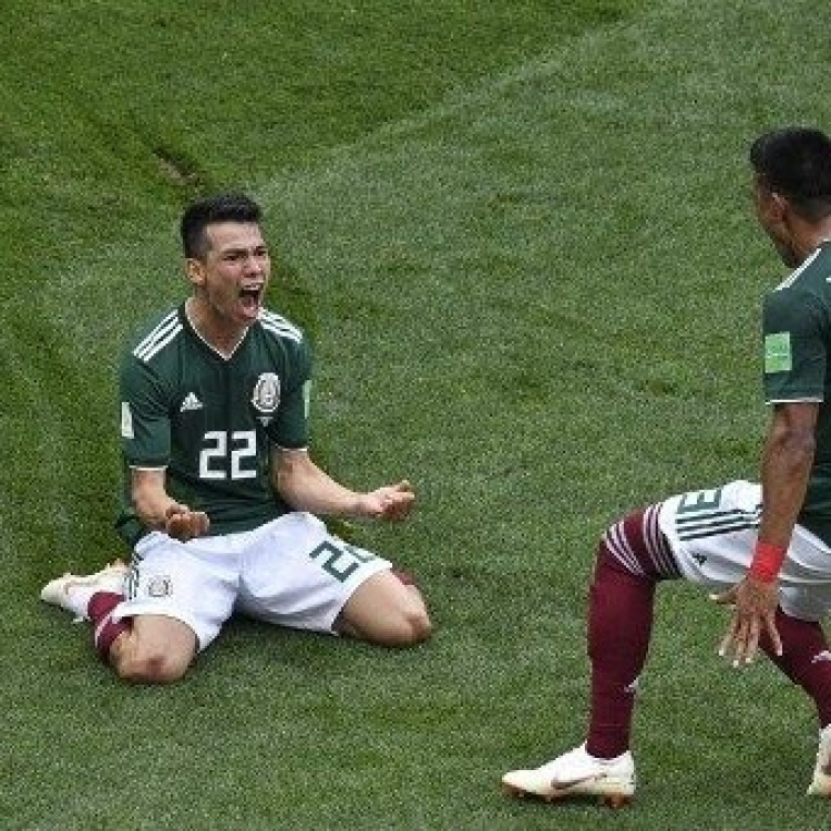 墨西哥一球射垮上屆冠軍德國(有片)