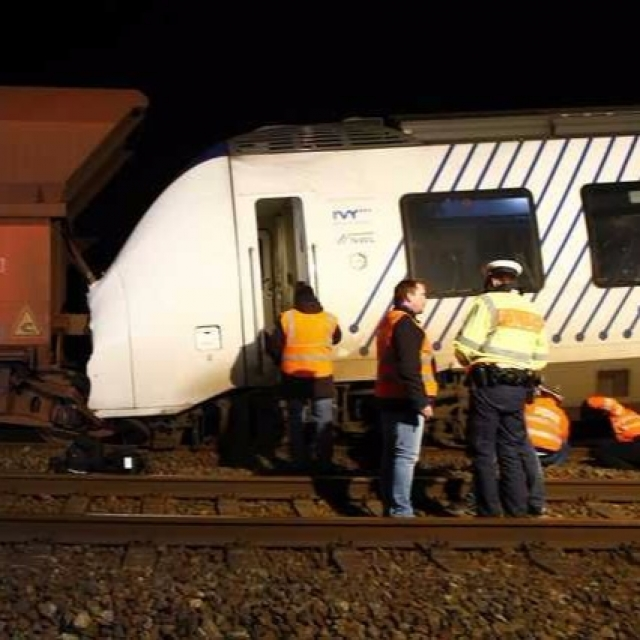 德國兩火車相撞47人受傷