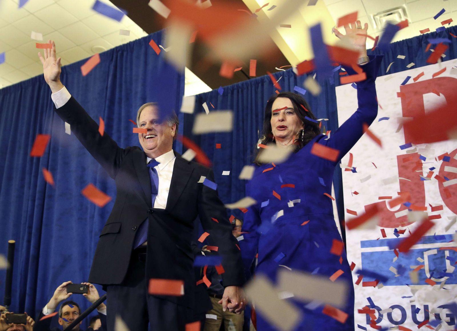特朗普祝賀民主黨獲勝