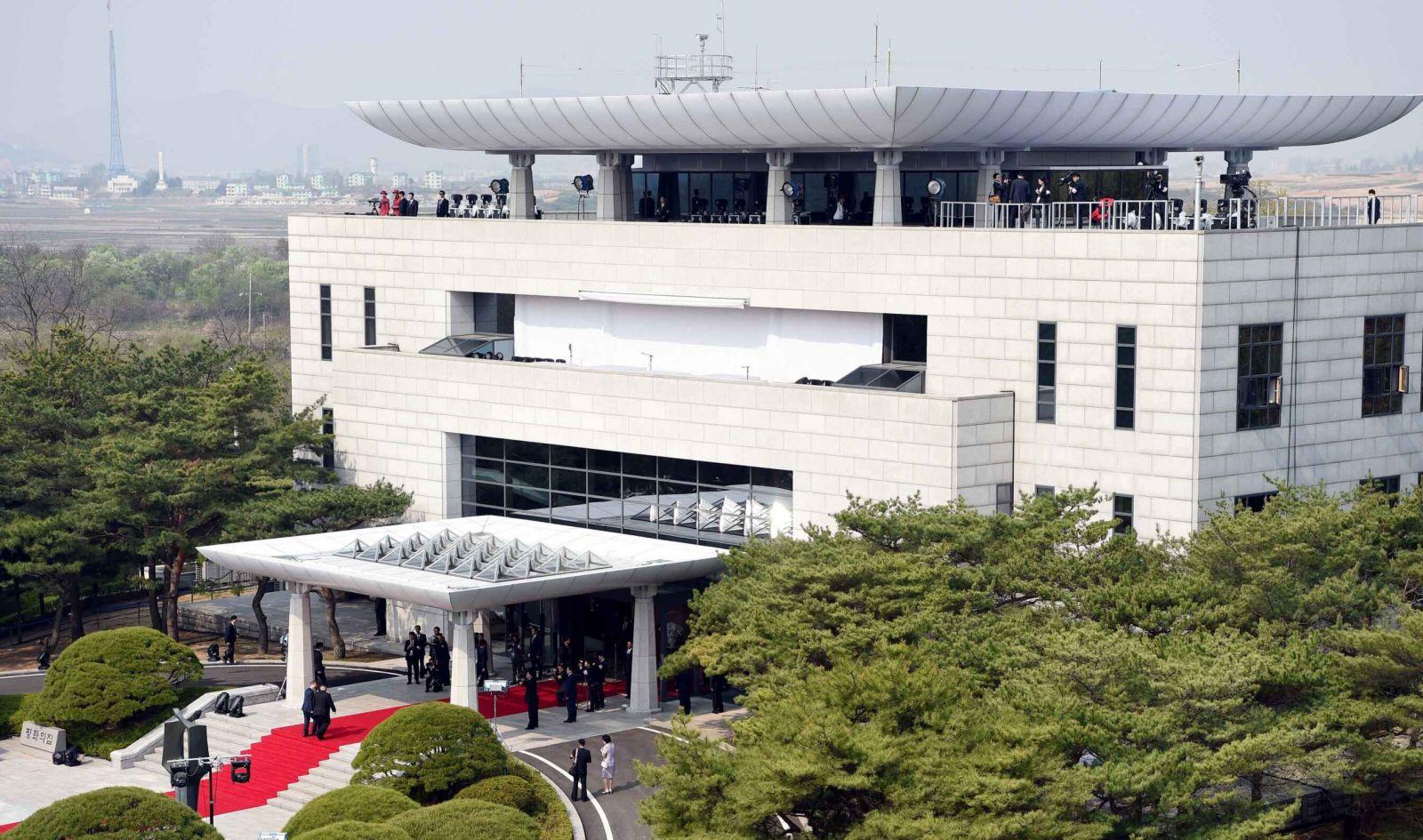 韓朝下午繼續會談商共同宣言