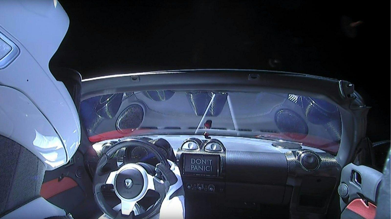 成功送特斯拉跑車上太空