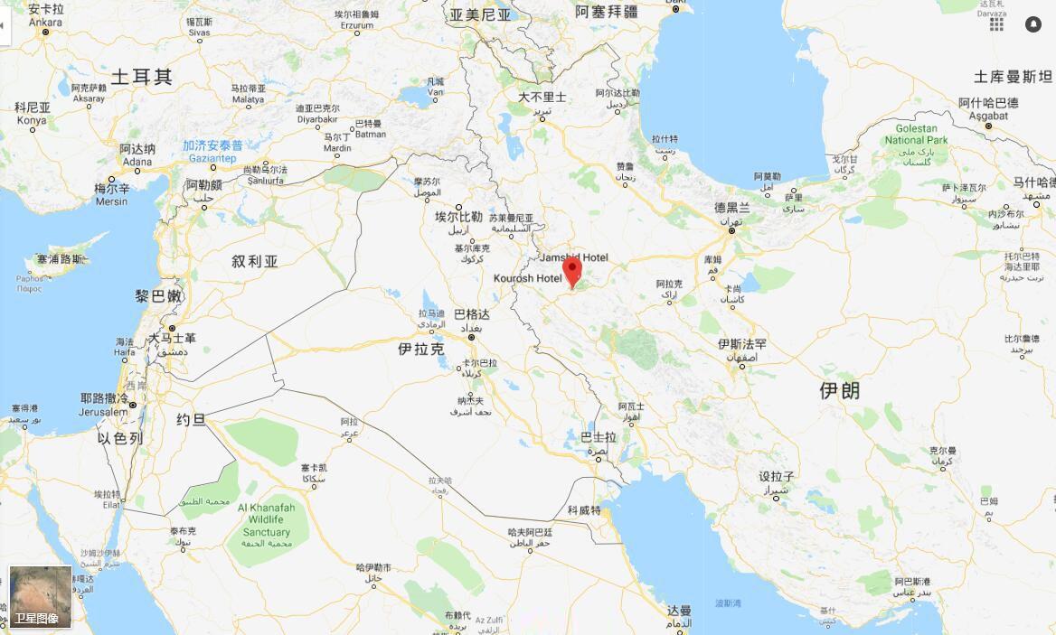 兩伊邊境再發生地震 暫無傷亡報告