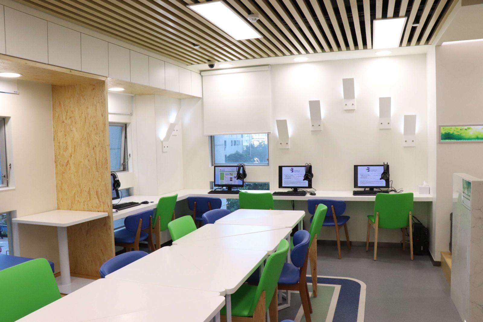 為該區學生提供自修空間