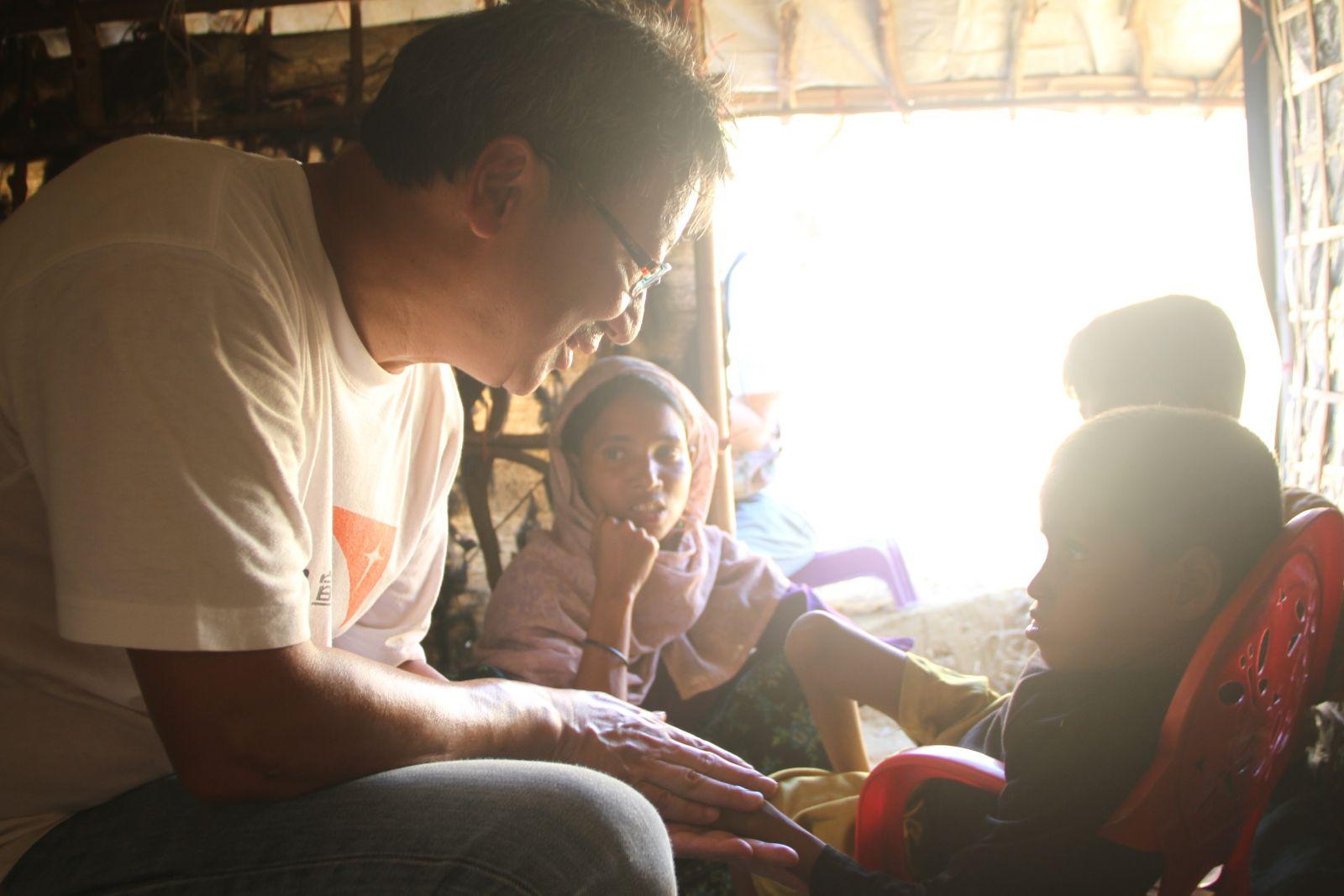 兒童受貧病煎熬急需支援