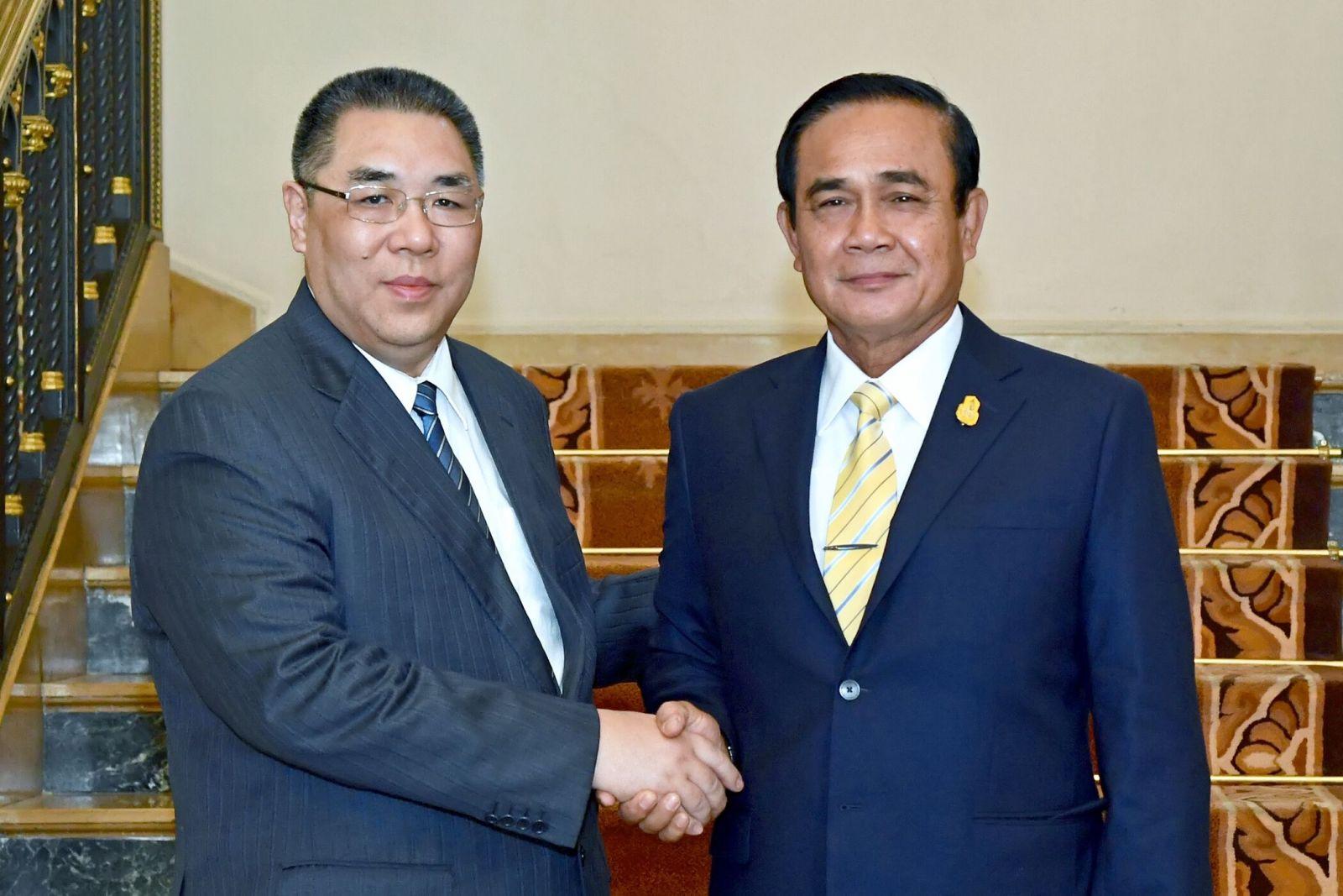 泰方冀促進雙方旅遊等合作