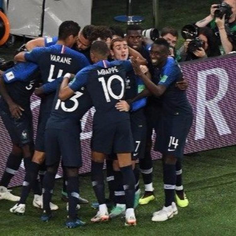 法國時隔12年再入世盃決賽(有片)