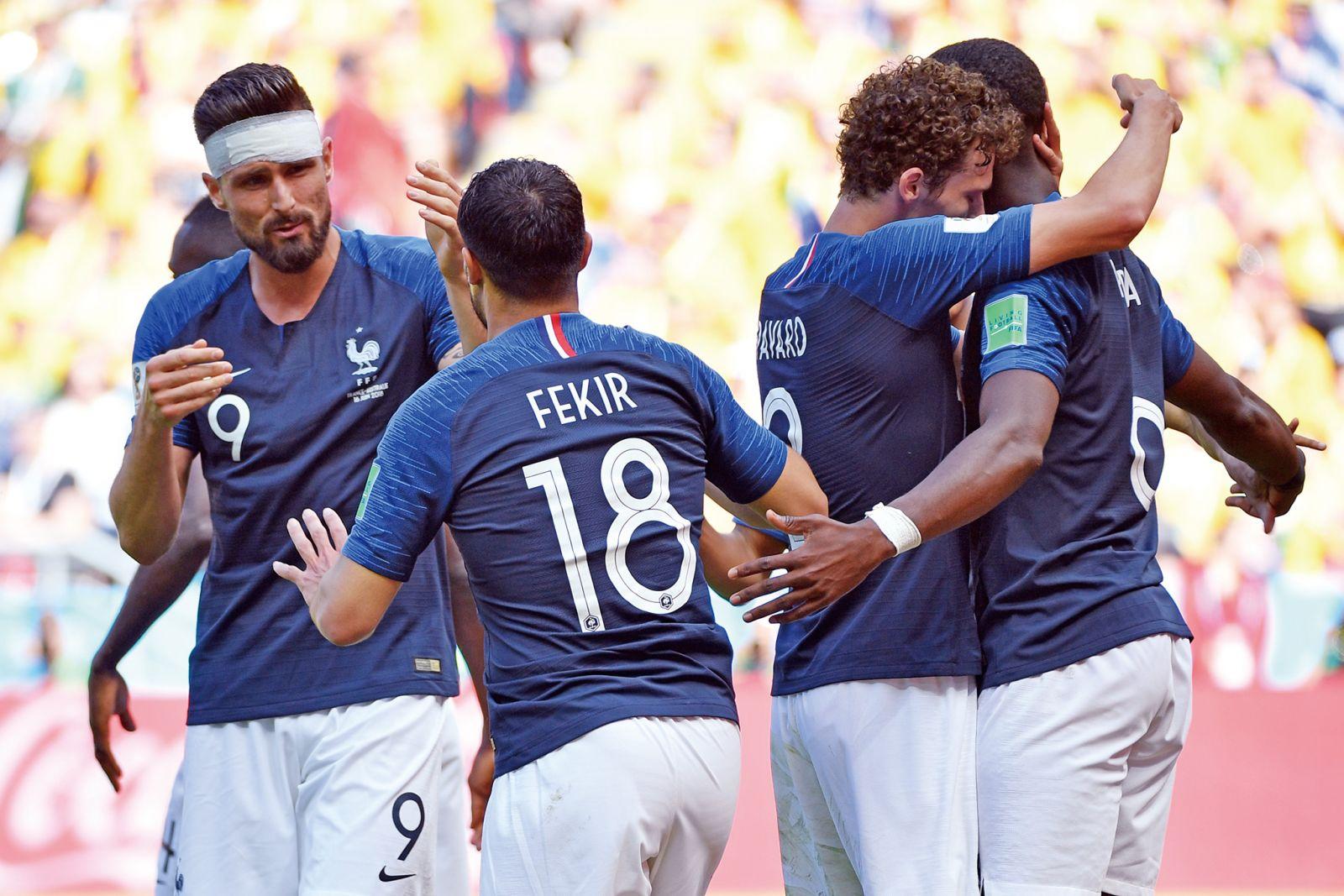 法軍狀態提升撼秘魯