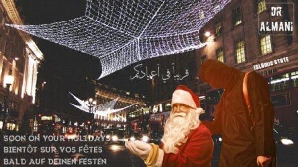 再發新威脅 IS揚言聖誕襲倫敦