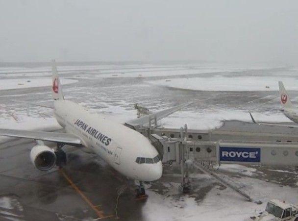 全日本近200航班取消JR停駛