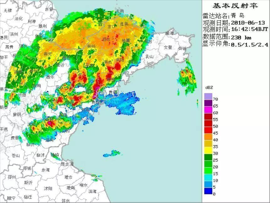 山東青島落「海鮮雨」?