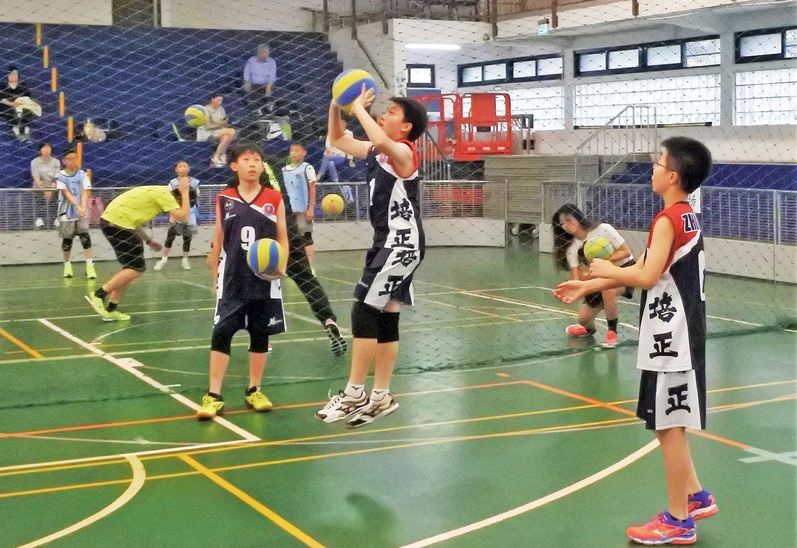 培正軟式排球聯校賽奪五冠