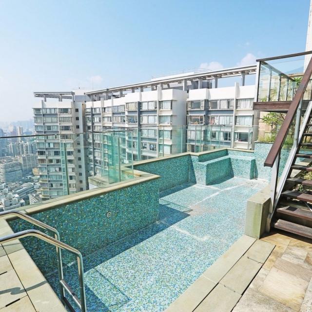 私人泳池 俯瞰半島景