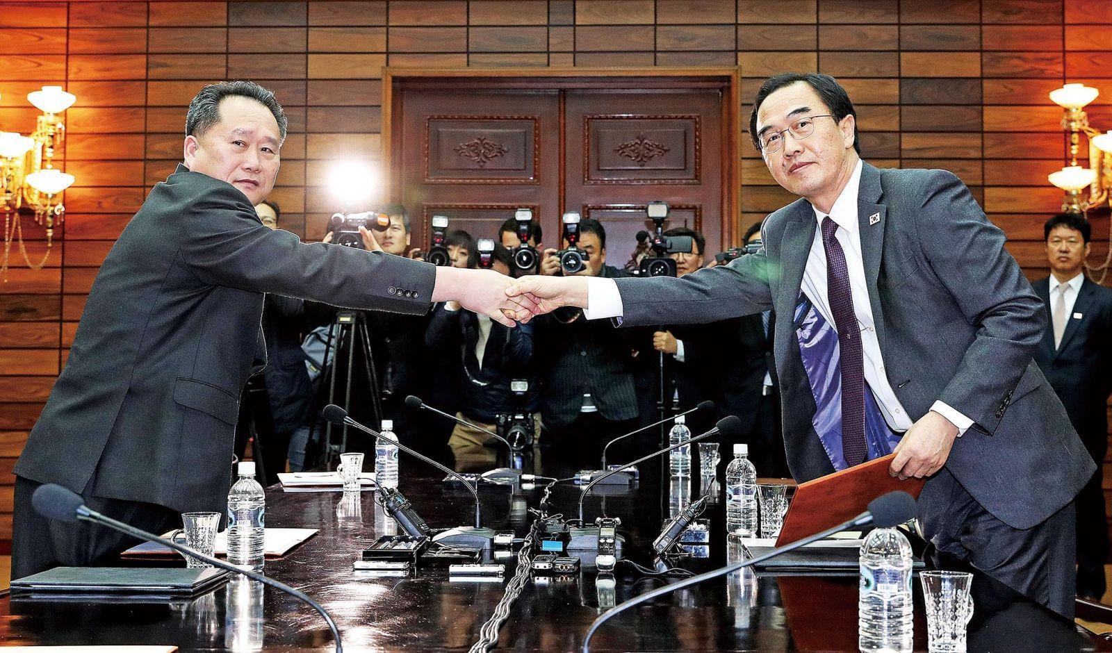 韓朝舉行高級別會談