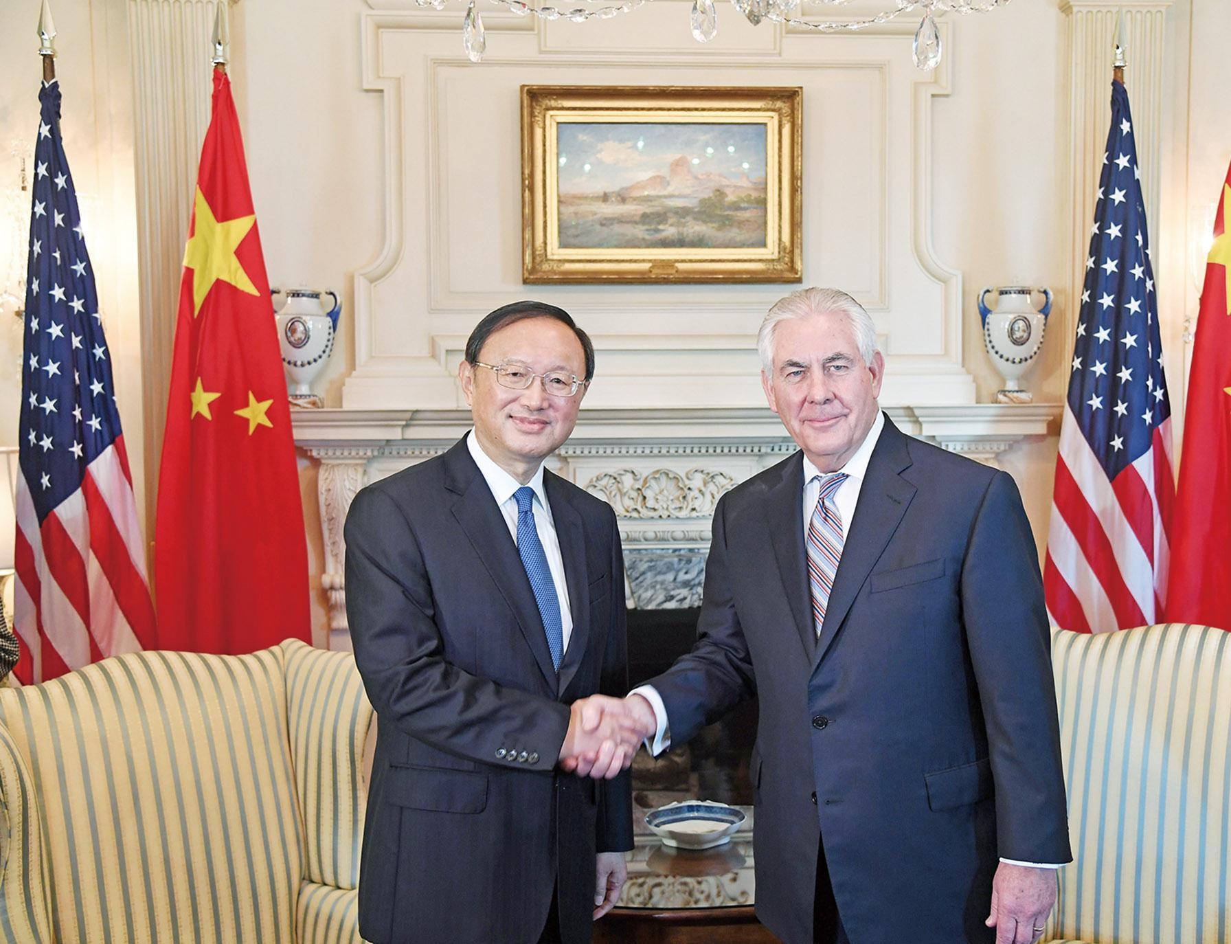 談中美關係及朝核問題
