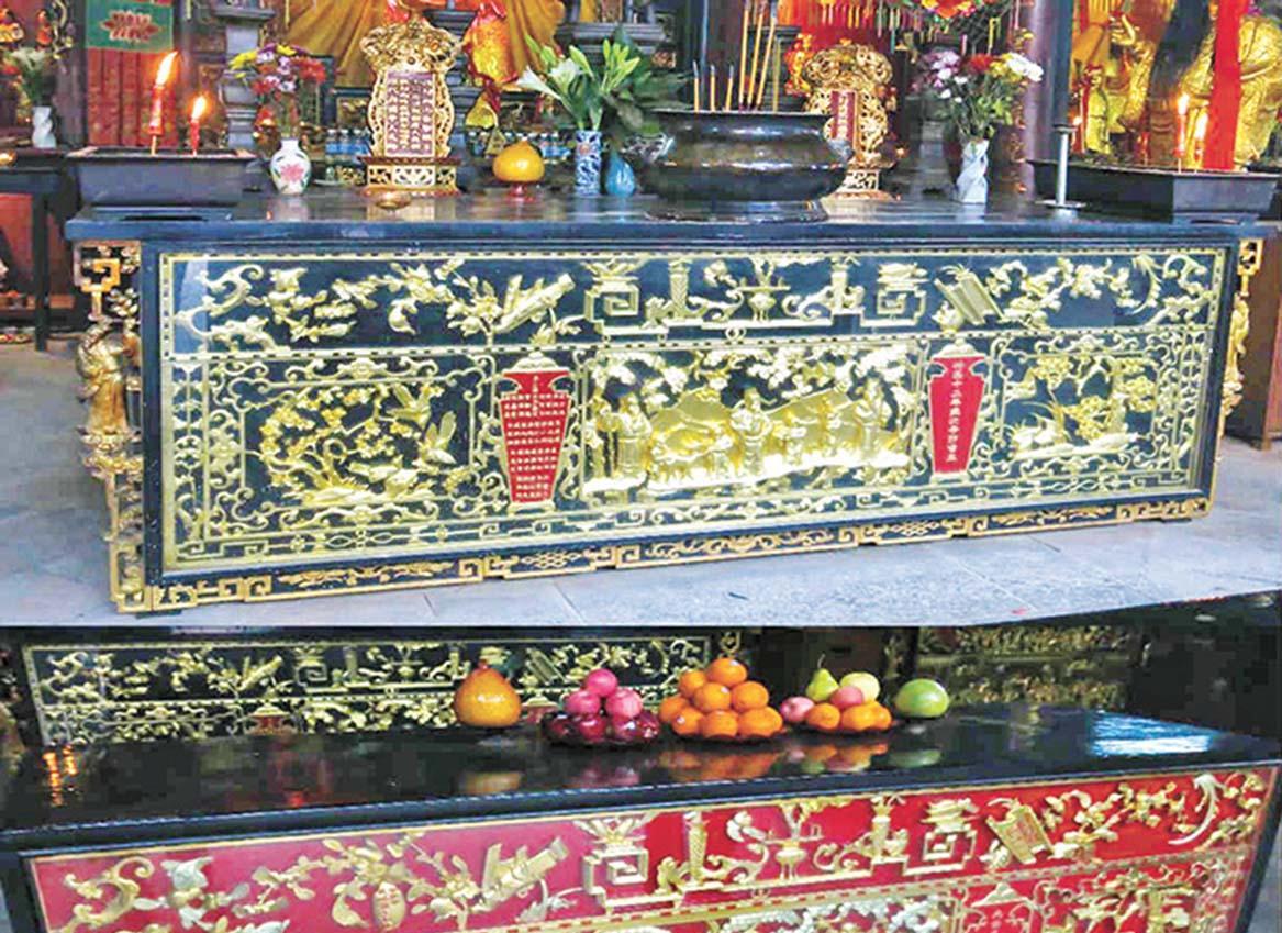 康公廟仿製百年神枱