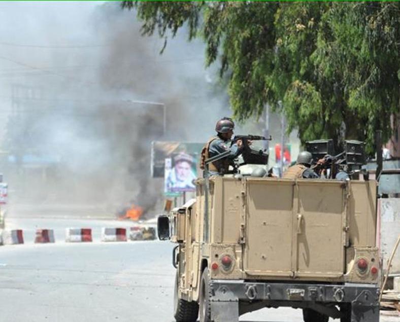 阿富汗國營電視台遇襲三死九傷