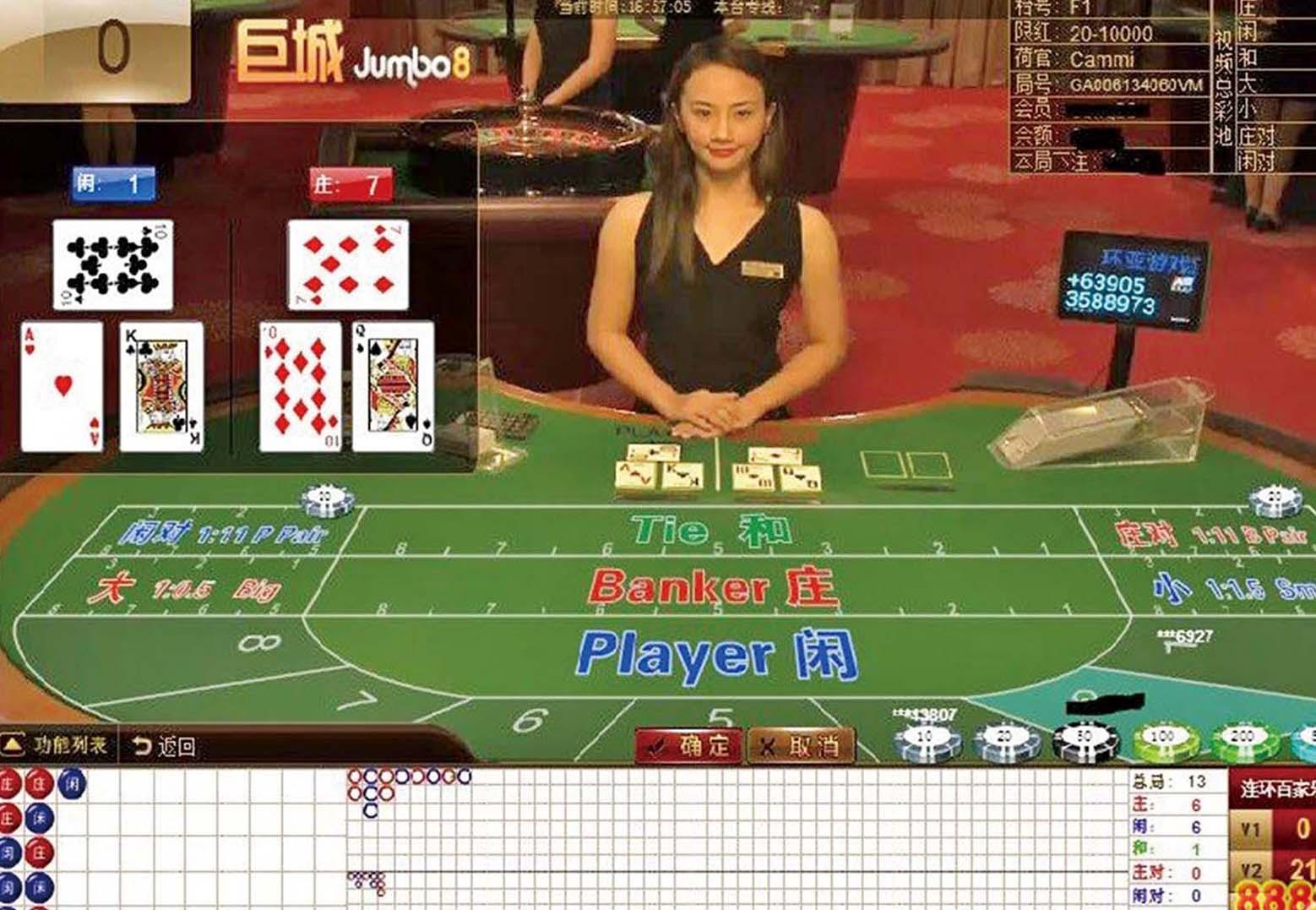 預設賭局十賭十贏 狂吞1.4億元