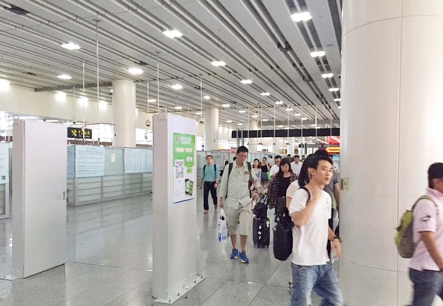 感染者曾途經香港