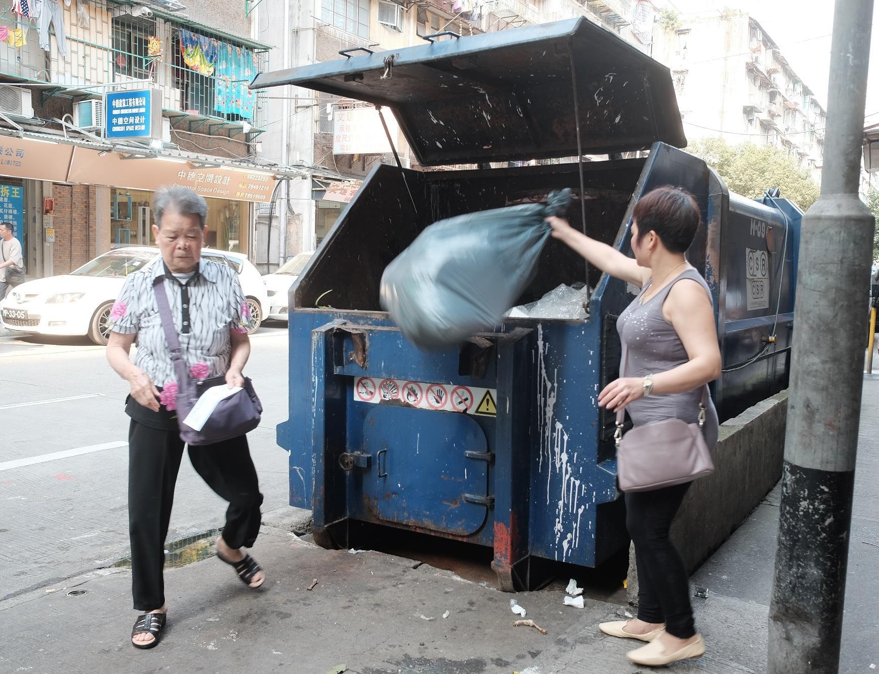 遊客為生活垃圾上升主因