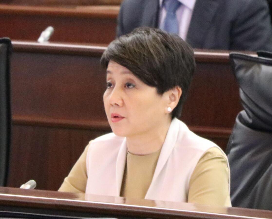 梁安琪獲選立會行政委員會主席